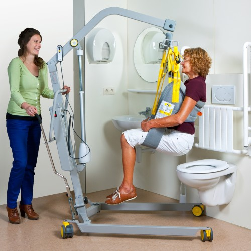 Handi-Move - Soulève-personne mobile 1641 , Sangle de toilette
