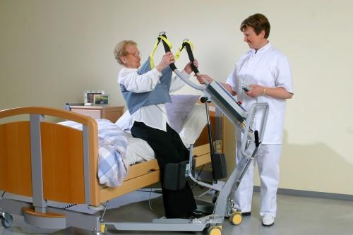 Lève-personne actif , Sangle du Lève-personne actif, Systèmes de transfert