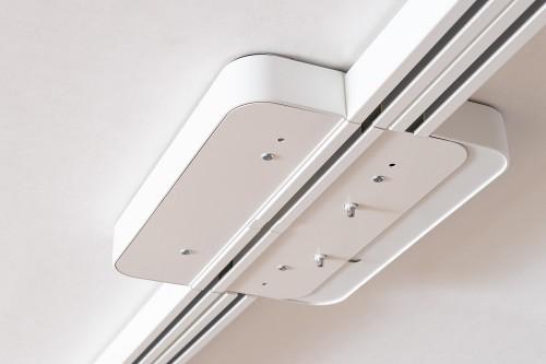 Aiguillages, Systèmes de rails au plafond