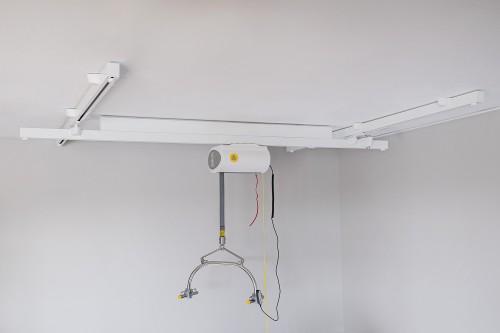 Rails transversaux, Systèmes de rails au plafond