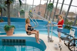 Mobiele zwembadlift , Handi-Move Tilbeugel®