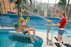 Fléau Classique , Lève-personne mobile de piscine
